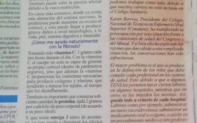 Articulo en el periódico #elguardiandelasalud