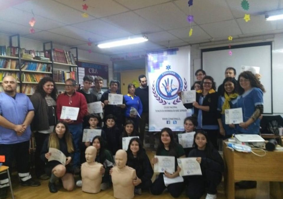 Jornada de RCP Colegio «San Cristobal college»